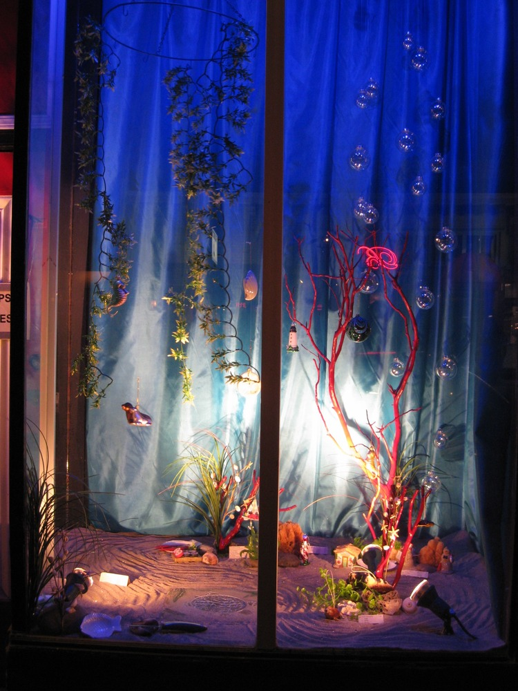 Window Display - Under The Sea Coral Tree - Cole Hardware