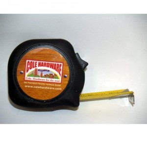 Cole Hardware tape measure-2