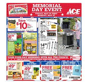 2013 Memorial Day Sale