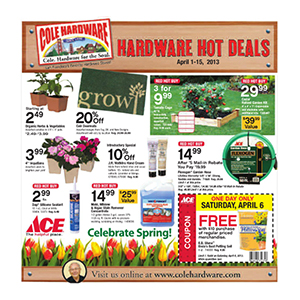 April 2013 Hardware Hot Deals