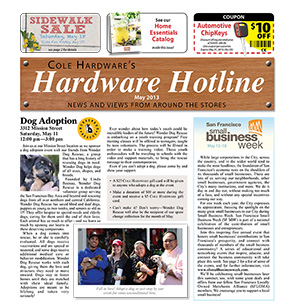 Cole Hardware's May 2013 Hardware Hotline