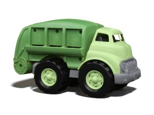 Green Toy recycle Truck smaller