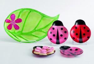 Ladybug plates