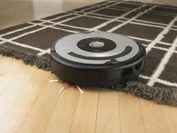 Roomba in use