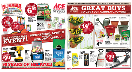 Ace Hardware's 90th Anniversary Event