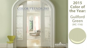 Benjamin Moore's Color of the Year goes to…Guilford Green!