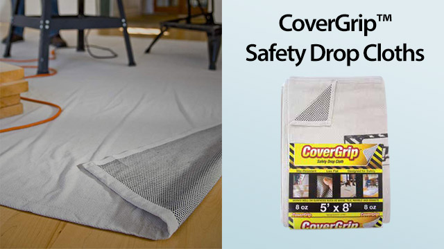 covergrip safety drop cloths