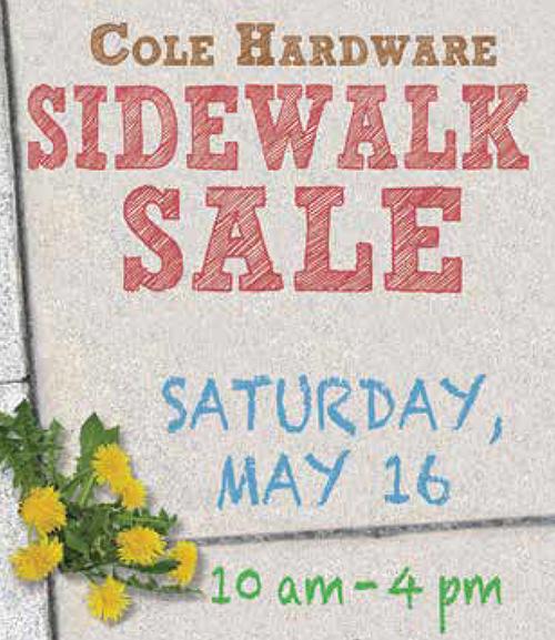 sidewalksale