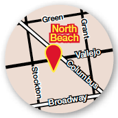 North Beach Location