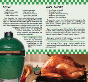 Big Green Egg Turkey
