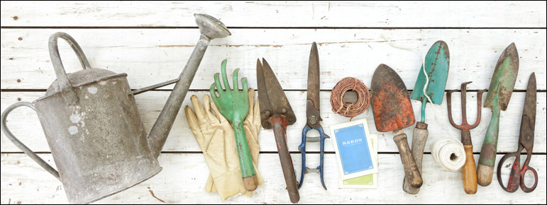 Keep Your Gardening Tools In Shape