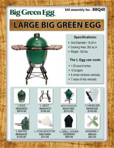 Large Big Green Egg