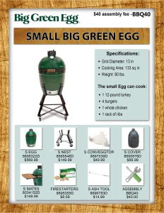 Small-size Big Green Egg
