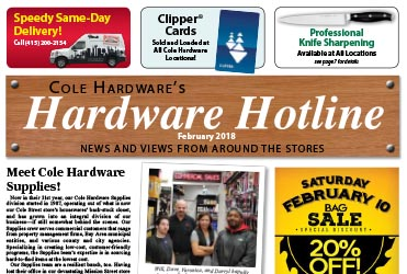 Hardware Store in San Francisco, CA | Cole Hardware