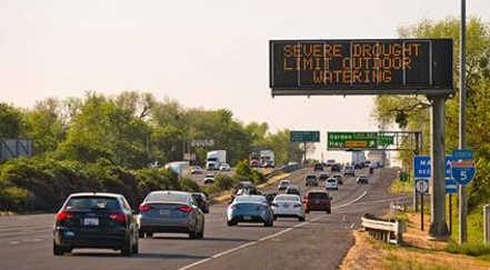 Conserve water ahead of drought season